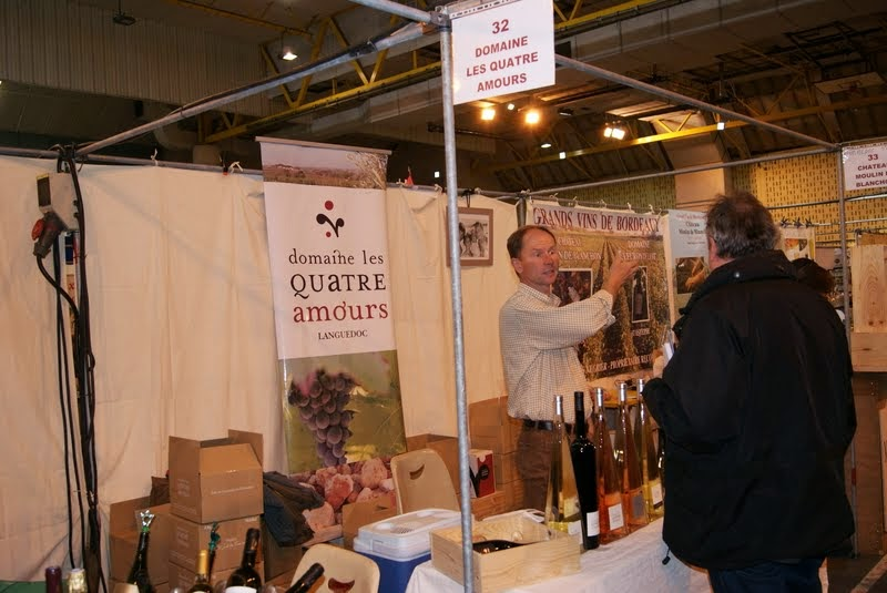 Domaine les quatre amours std 32 salon du vin et des for Salon arles