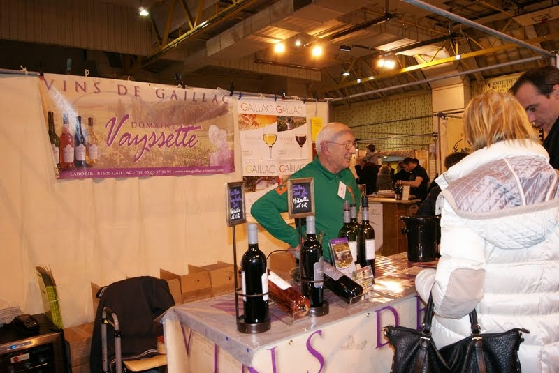 Domaine vayssette aoc gaillac std 34 salon du vin et for Salon arles